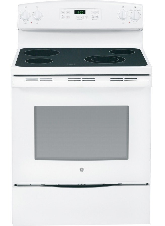 GE Smooth Surface Freestanding 5.3-cu ft Electric Range