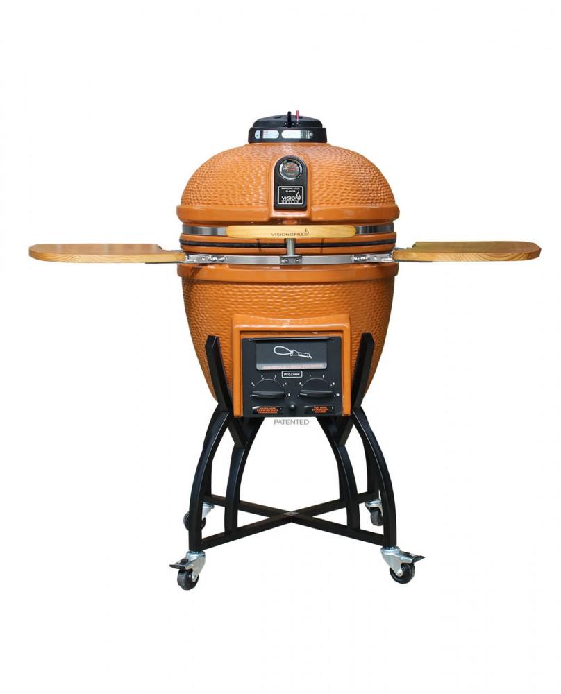 Vision C-Series Kamado Grill - Orange