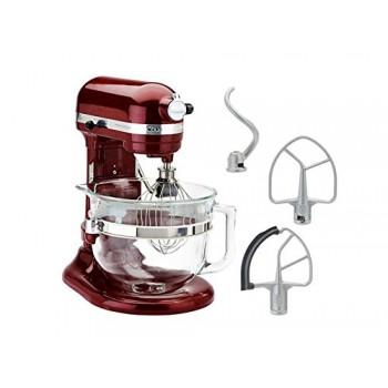 KitchenAid KF26M1QGD Pro 600 Deluxe Stand Mixer, Grenadine, 6 Qt