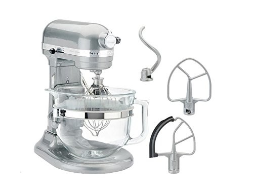 Kitchenaid Kf26m1qmc Pro 600 Deluxe Stand Mixer Metallic Chrome 6