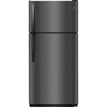 18 cuft Black Stainless