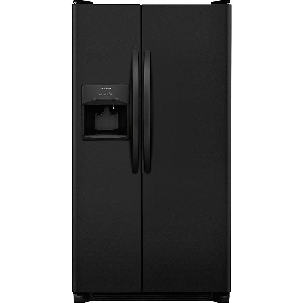 Frigidaire 22.1 cu. ft. Side-by-Side Refrigerator - Black
