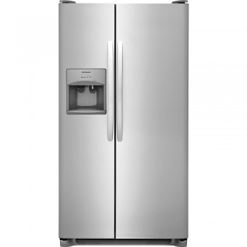 Frigidaire 22.1 cu. ft. Side-by-Side Refrigerator - Stainless Steel