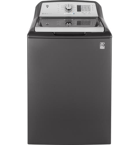 GE 4.5 cuft washer with stainless steel basket