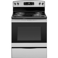 Crosley Stainless steel electric coil top range