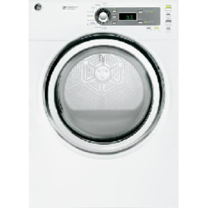 7.0 Cu Ft Electric Dryer with Steam - White