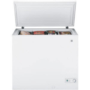 7' Chest Freezer - White