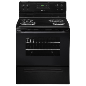 Self Clean Electric Range - Black