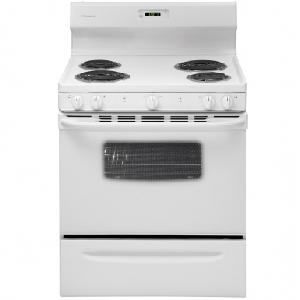 Manual Clean Electric Range - White