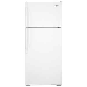 16' Top Freezer Refrigerator - White