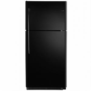 21' Top Freezer Refrigerator - Black