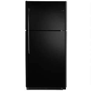 21' Top Freezer Refrigerator - Black