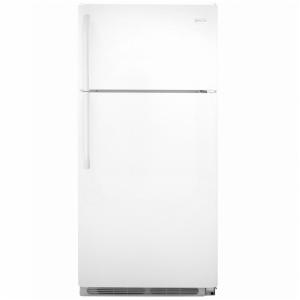 18' Top Freezer Refrigerator - White