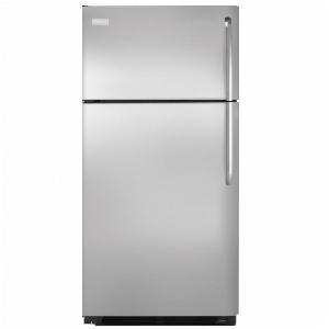 18' Top Freezer Refrigerator - Black