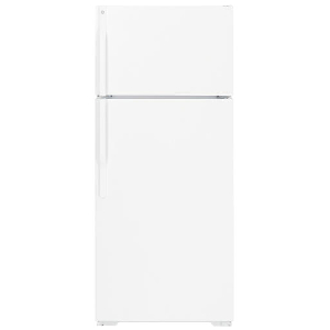 16' Top Mount Refrigerator - White