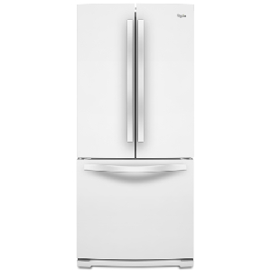 20' French Door BM Refrigerator - White