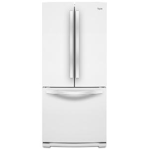 20' French Door BM Refrigerator - White