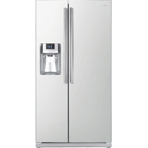 26 Cu Ft Dispenser Refrigerator - White
