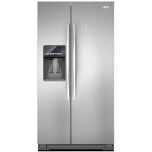 26' Dispenser Refrigerator - Black