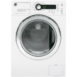 2.2 Cu Ft Front Load Washer - White