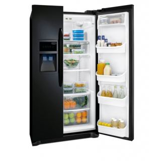 25.8 Cu. Ft. Black Side by Side Refrigerator