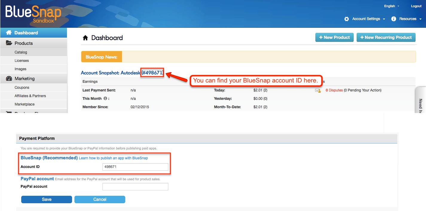 Autodesk App Store - Appstore invoice