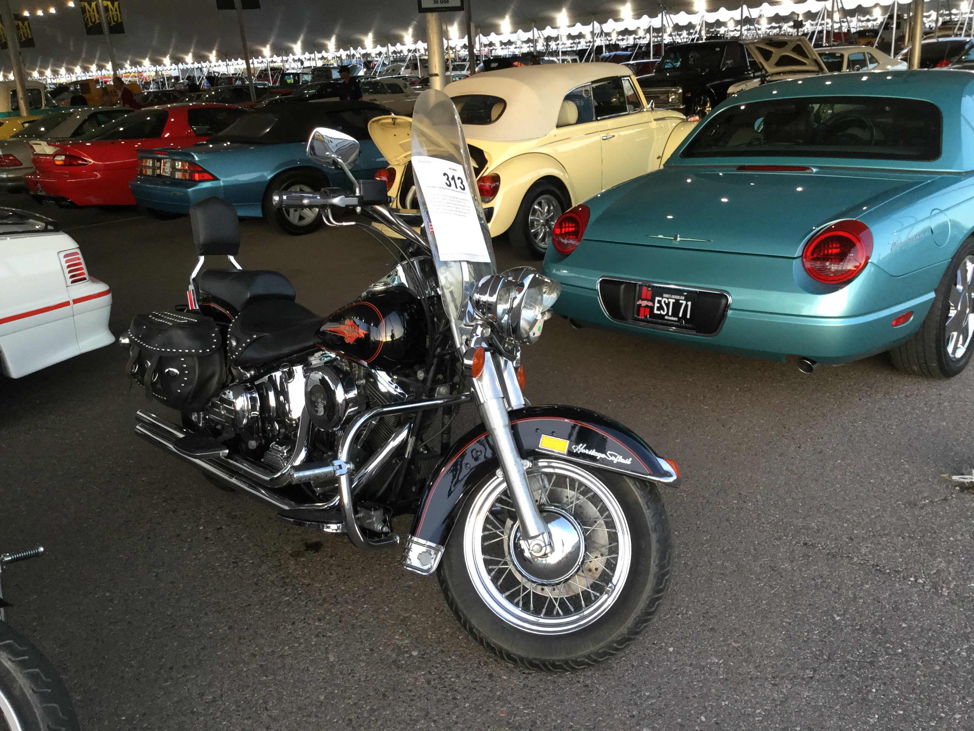 1992 Harley Davidson FLSTC Heritage Softail Custom Motorcycle