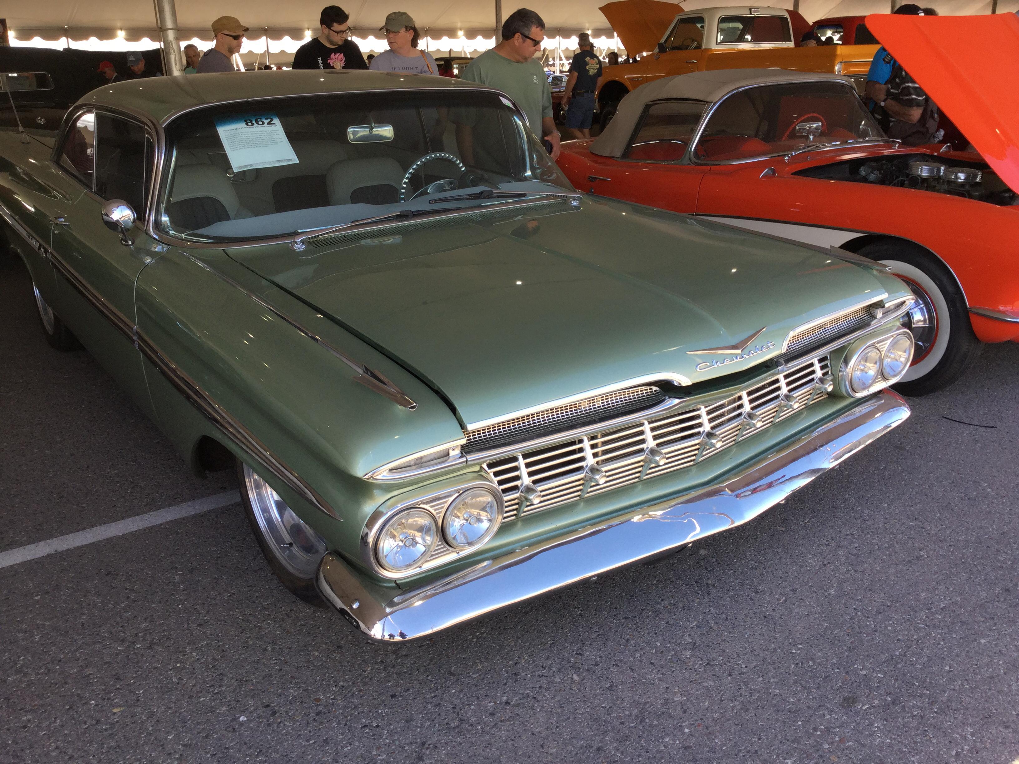 Barrett JacksonScottsdale2018_862_Chevrolet_1959_Impala_Base_Sport Coupe_F59F177498_Exterior 1959 chevrolet impala values hagerty valuation tool®