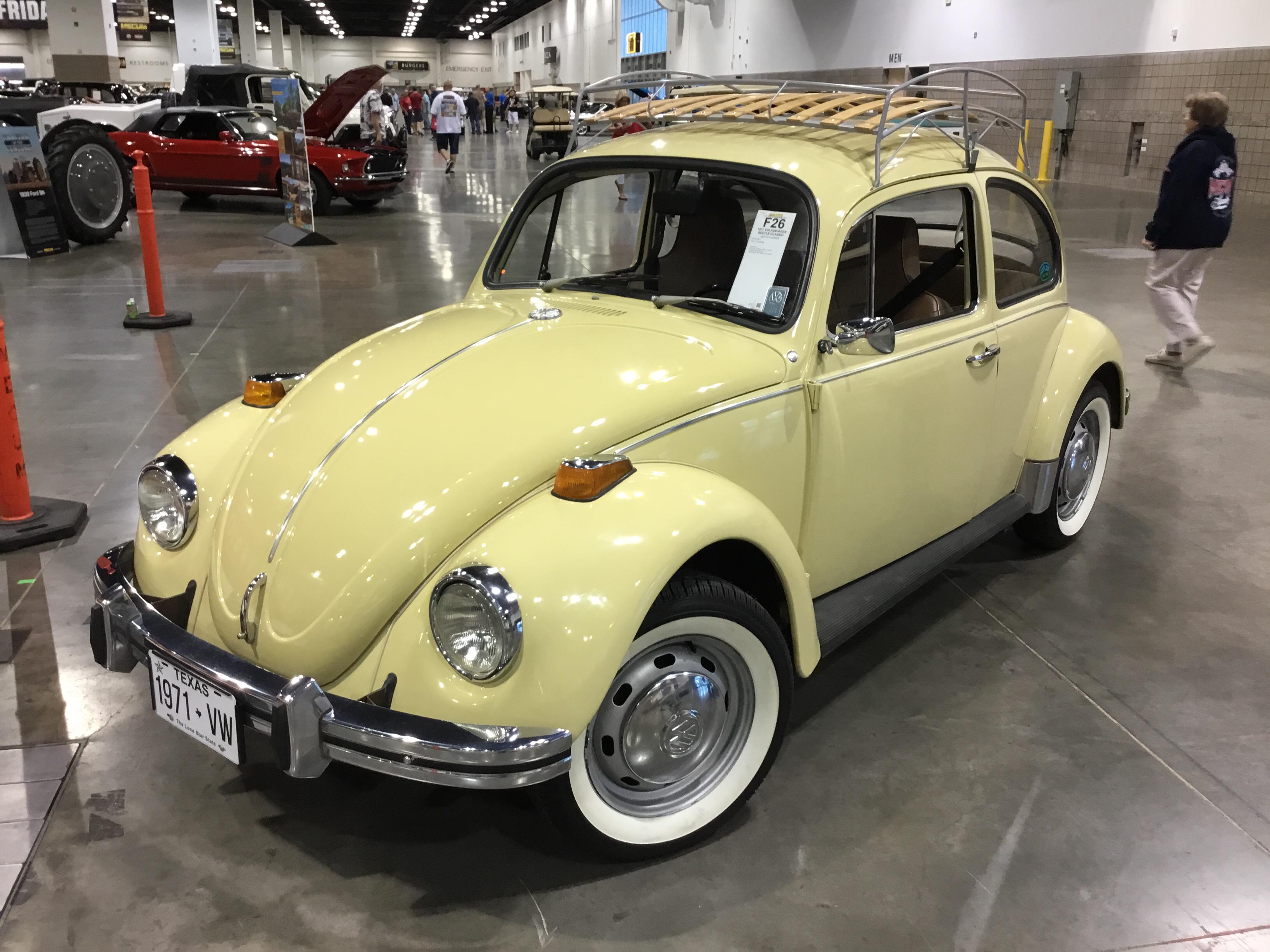 1971 Volkswagen Beetle Values Hagerty Valuation Tool