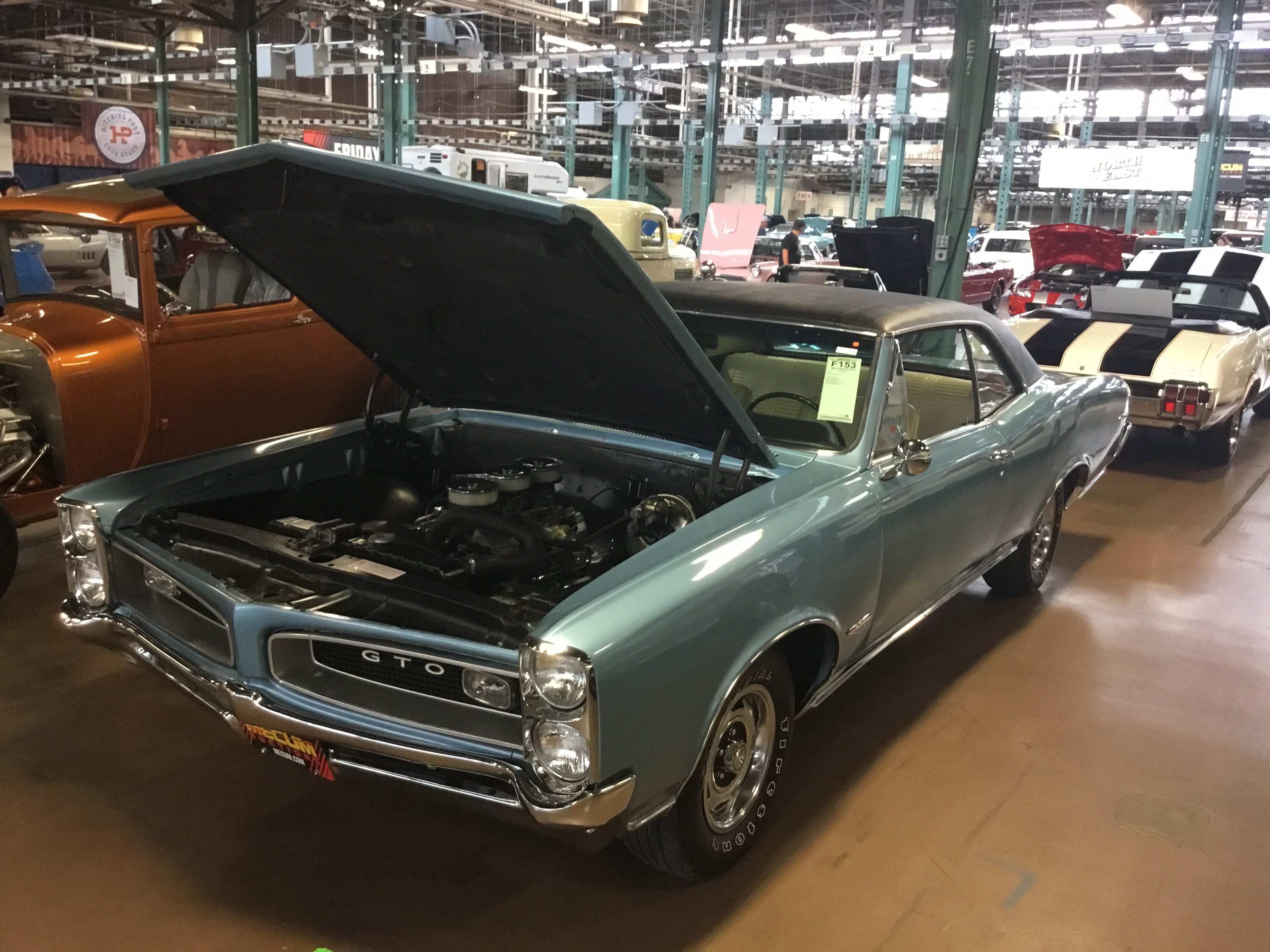 1966 Pontiac Gto Values Hagerty Valuation Tool V8 Engine With Tripower Carburetor Setup Hardtop Coupe