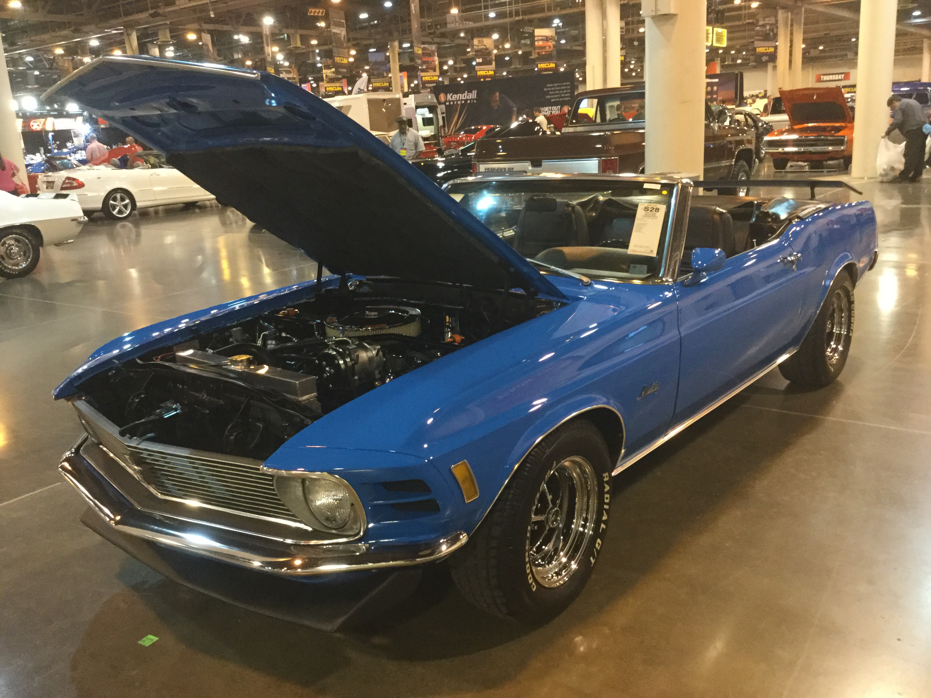 1970 ford mustang convertible 8 cyl 302cid 220hp 2bbl