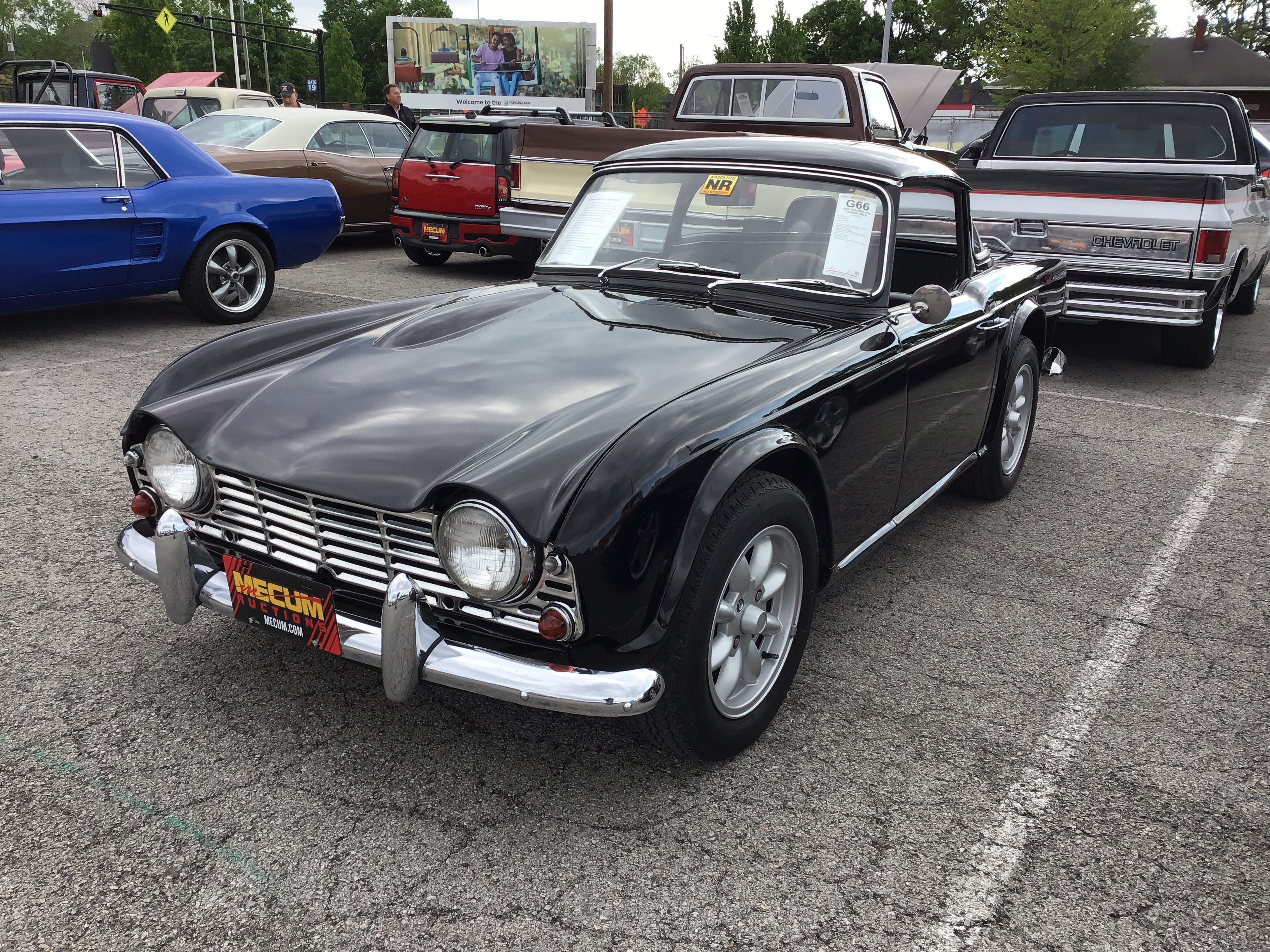 1964 Triumph Tr4 Values Hagerty Valuation Tool