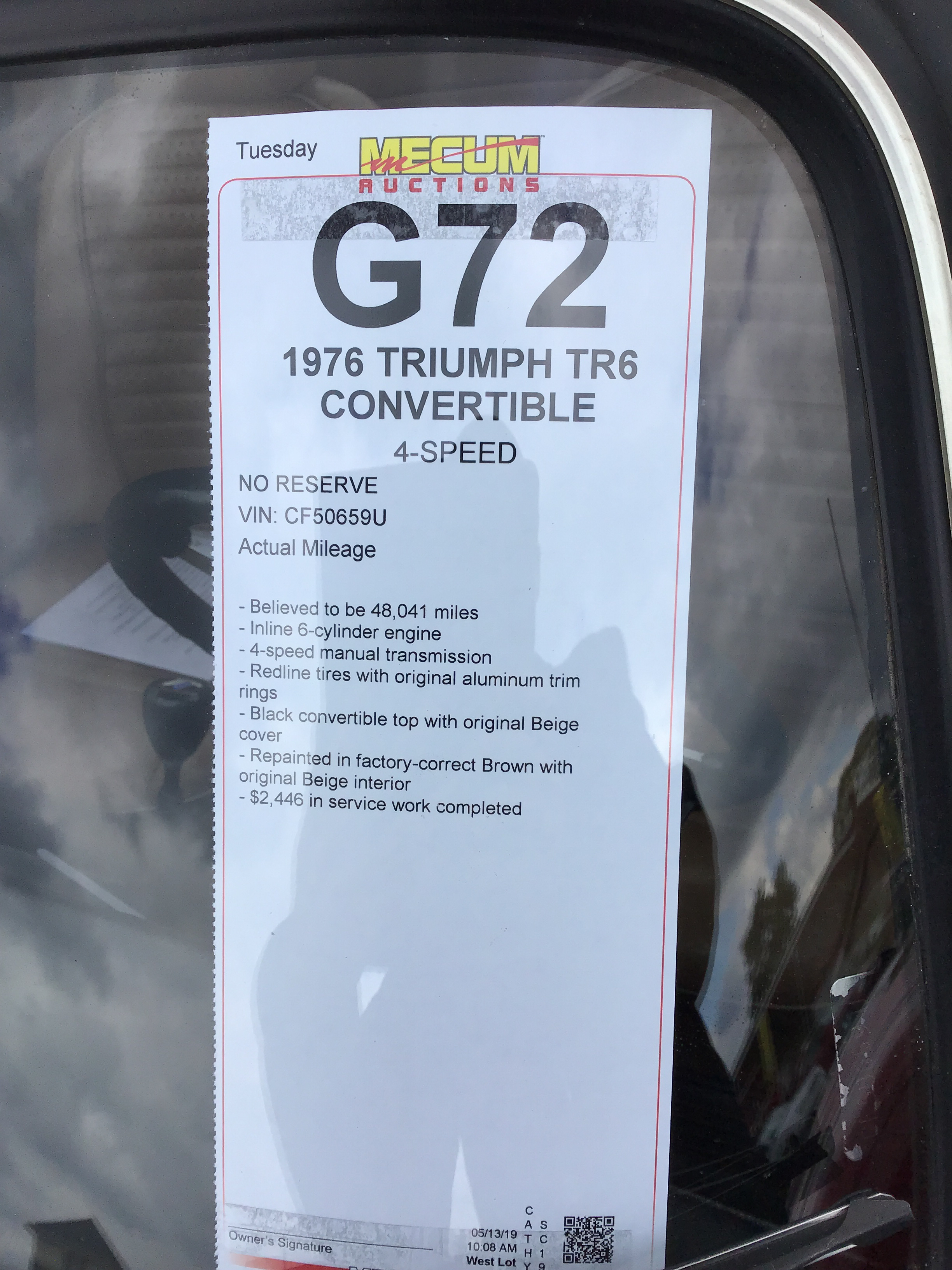 1976 Triumph TR6 Values | Hagerty Valuation Tool®