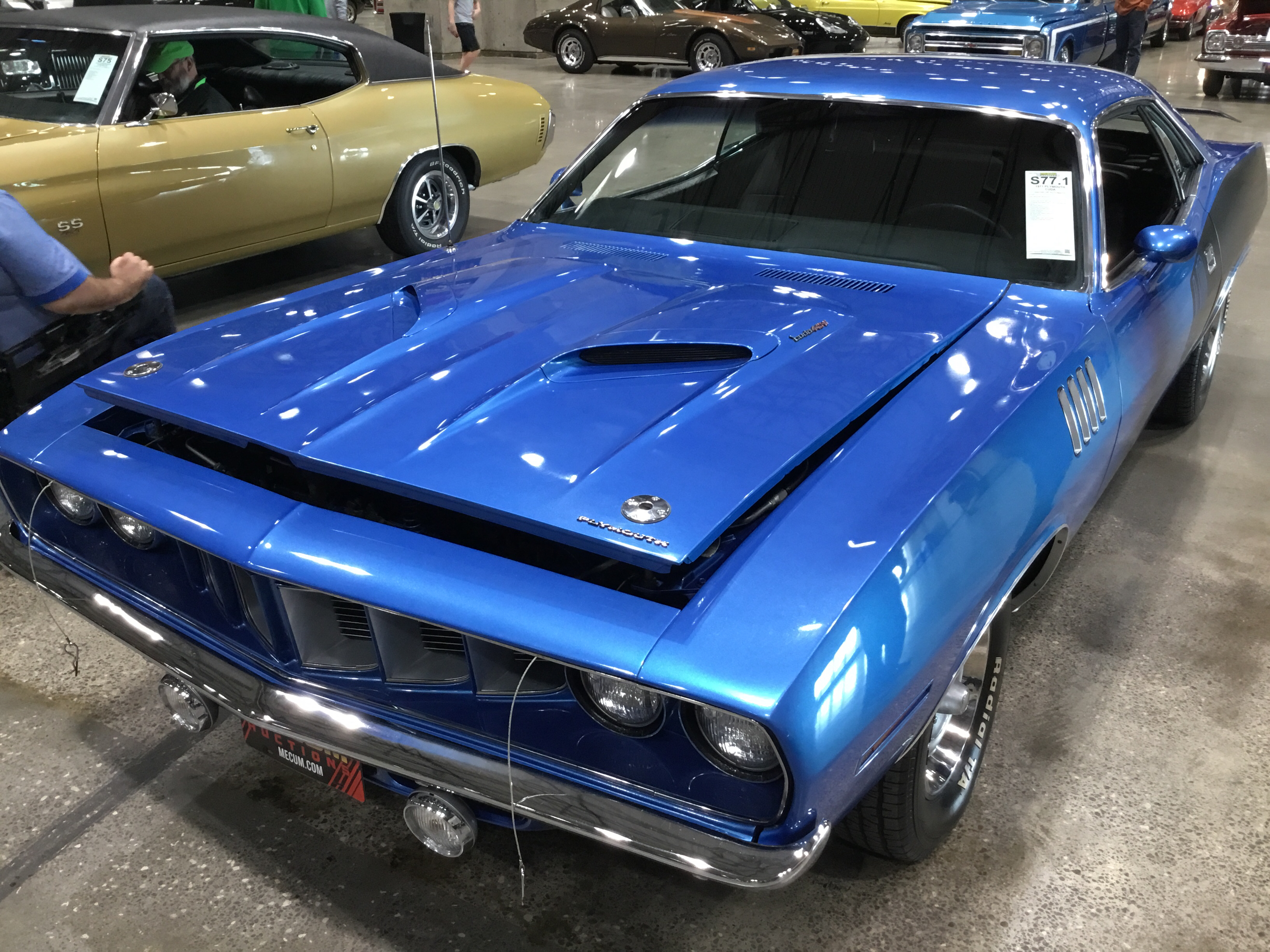 1974 Plymouth Cuda Values Hagerty Valuation Tool 1960s Cars 1971 Hardtop Coupe 8 Cyl 383cid 300hp 4bbl Hi Perf