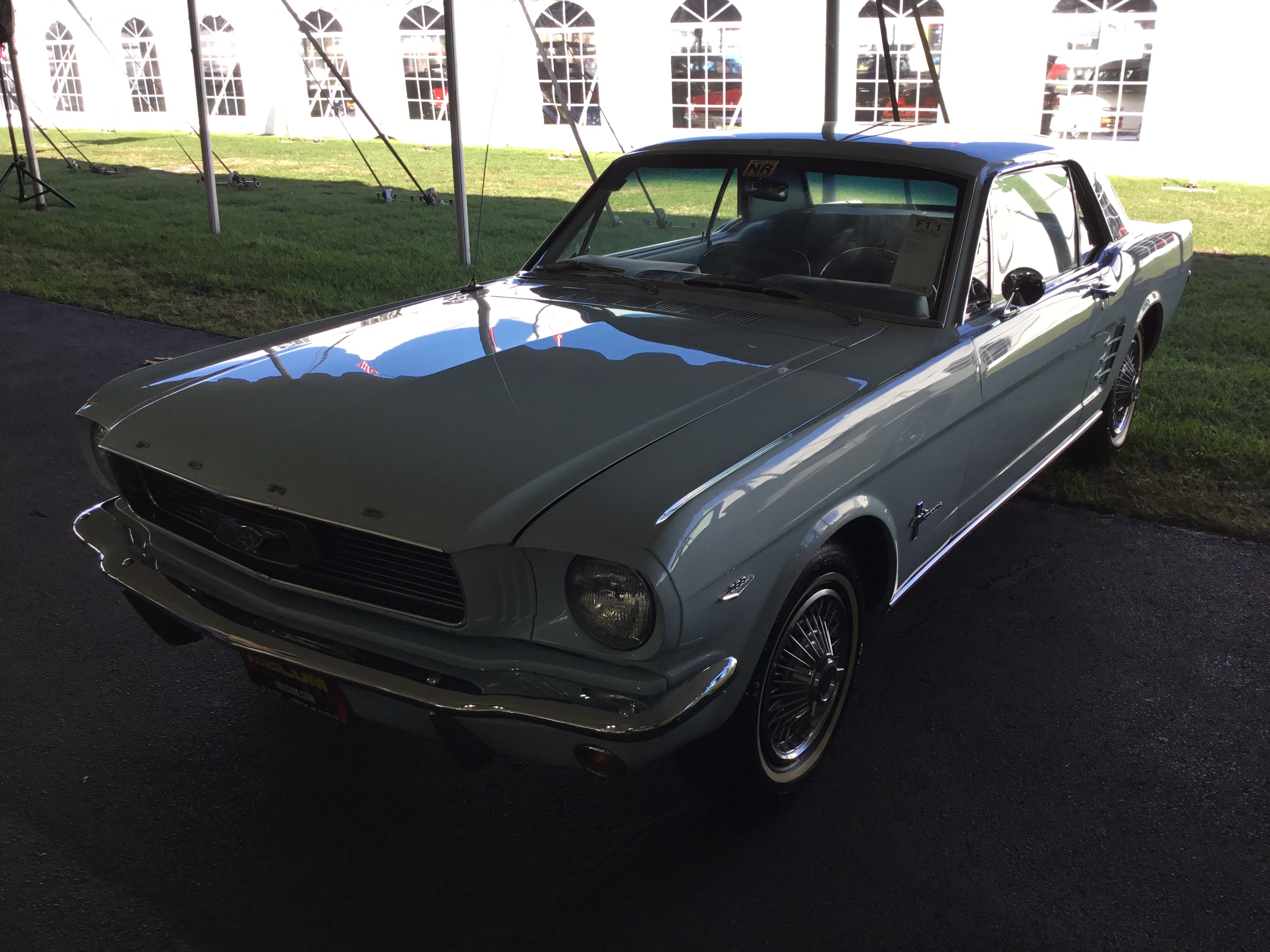 1966 ford mustang coupe v8 289 200 1x2 bbl