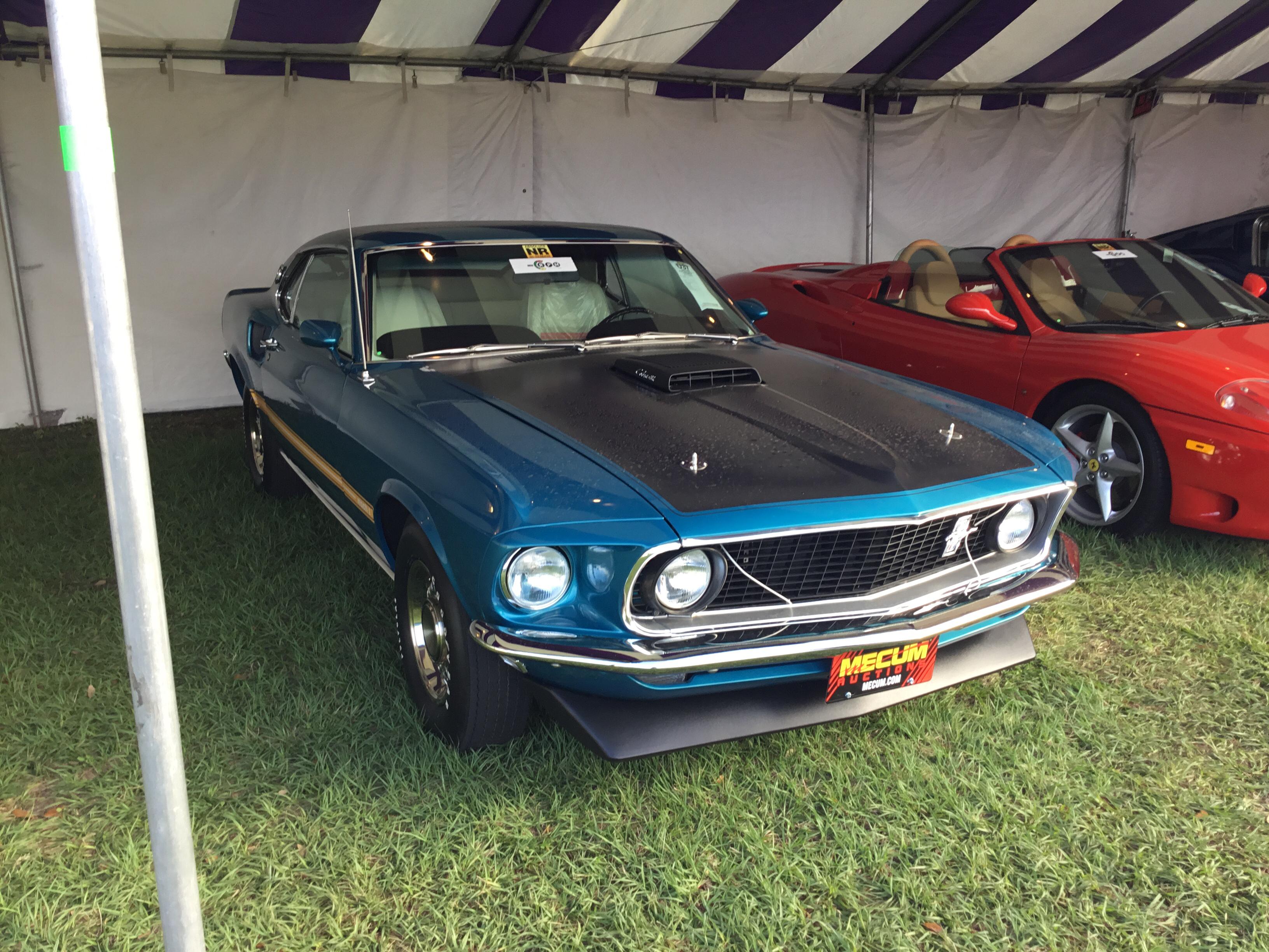 1969 Ford Mustang Mach 1 SportsRoof 8 Cyl 428cid 360hp 4bbl Super Cobra Jet