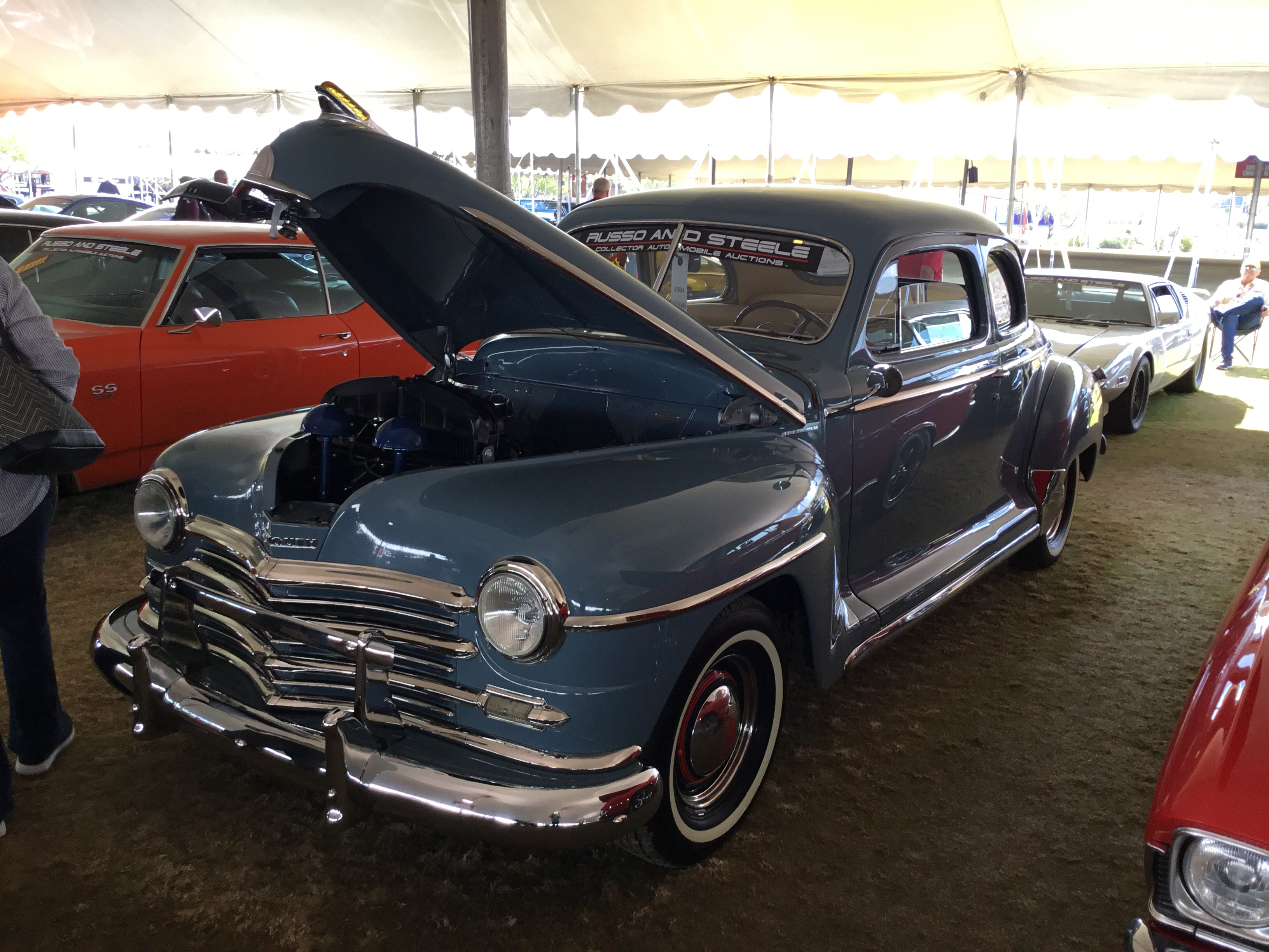 1949 plymouth p-15 deluxe club coupe