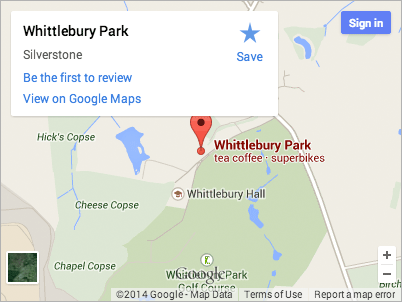 Map thumbnail of Whittlebury Park
