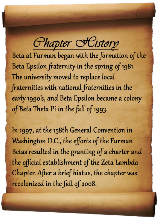 Chapter History