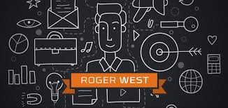 Roger West Creative & Code logo