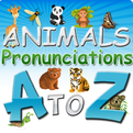 Animals Pronunciations A-Z