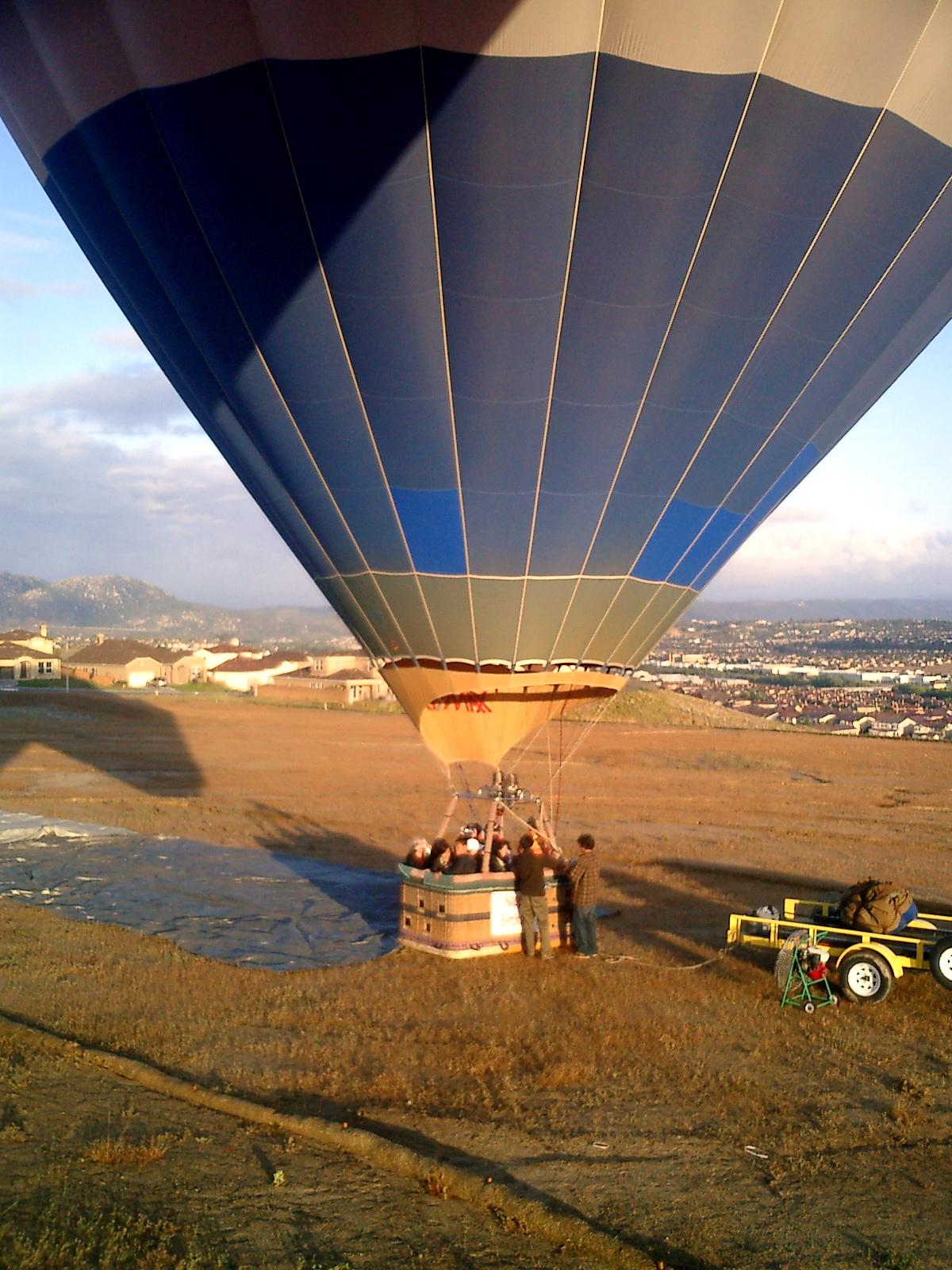 Hot Air Balloon in Temecula, CA