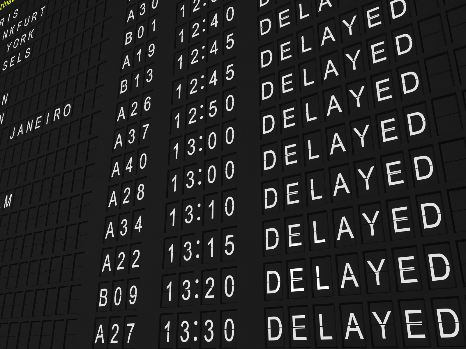 Avoid Flight Delays And Get Flight Delay Compensation