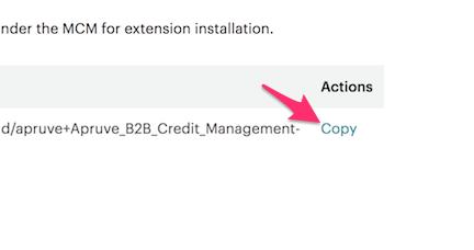 copy extension key