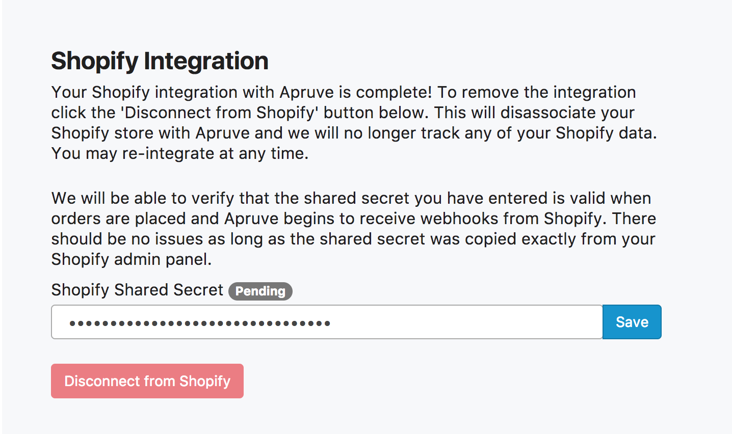 Integrating with Shopify with a Private App