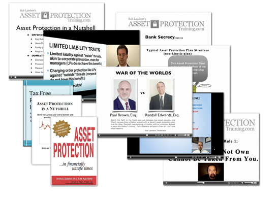 get all this and more when you join the free asset protection course