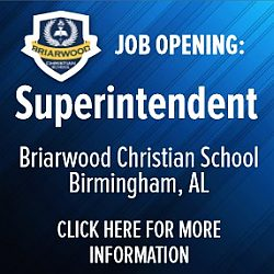 Briarwood School Superintendent - Opportunity - Click for details