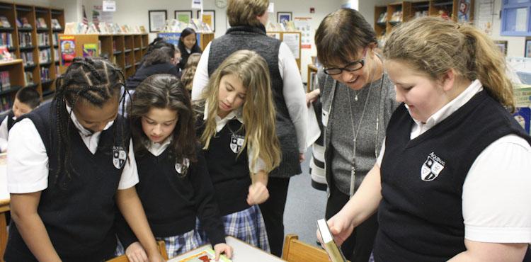 Book donations Mrs. Thurnher girls carousel