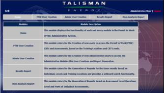 TALISMAN MALAYSIA  - PM 3 - 2006 - 2009