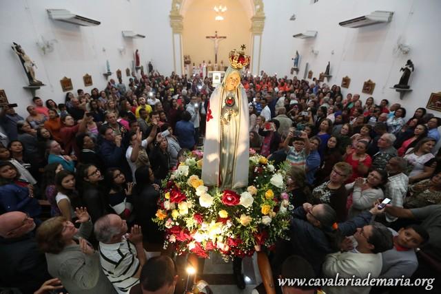 Em Cariacica – ES, Missões Marianas na Paróquia São João Batista